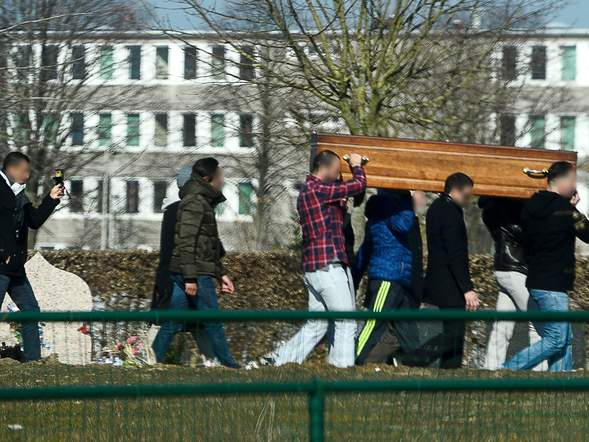 One Paris attacker buried just a day before his brother was captured in Brussels police raid