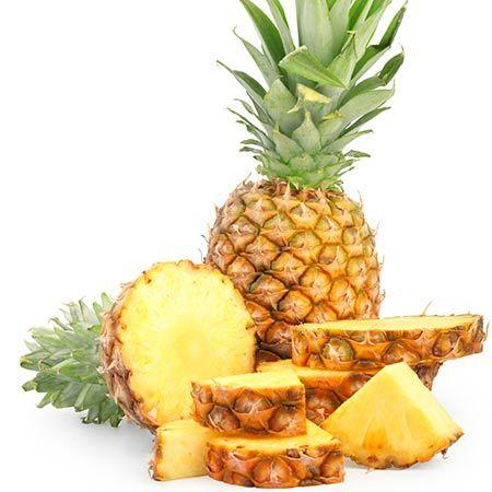 Eat Pineapple to reduce stomach fat