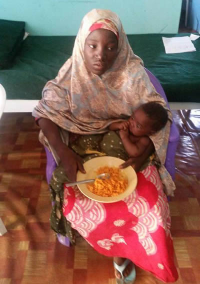 My colleagues are Still at Sambisa, except for Six already dead, –  Rescued Chibok girl