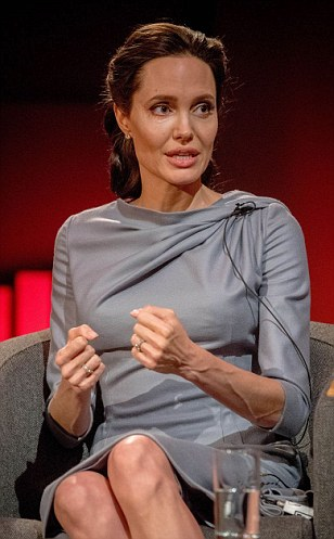 Angelina Jolie lectures the UK to stay in the EU blasts the EU for its 'race to the bottom' response to the influx of migrants
