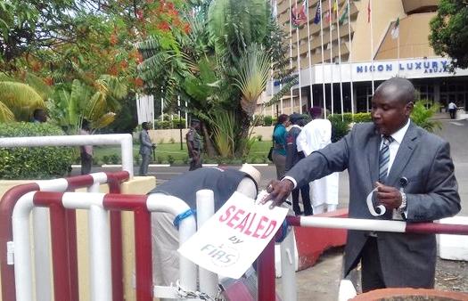 Billionaire Mogul, Jimoh Ibrahim's Nicon Luxury Hotel Locked Up By FIRS! SeeWhy