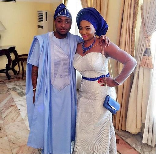 Photos From Davido's Sister Coco And Fiance Caleb's Traditional Wedding