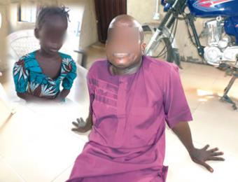 Pastor rapes 7 years old girl in church