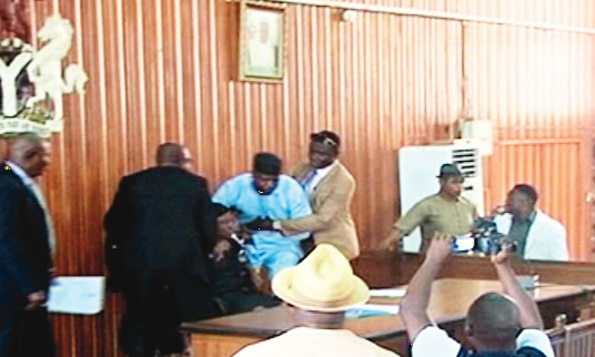 Thugs invade Edo Assembly as Speaker, deputy get impeached