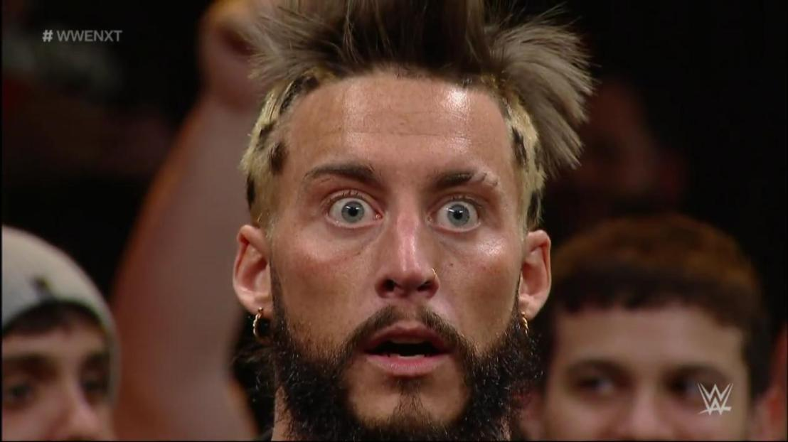 WWE's Enzo Amore 'snaps his neck' during 'Payback Sunday'