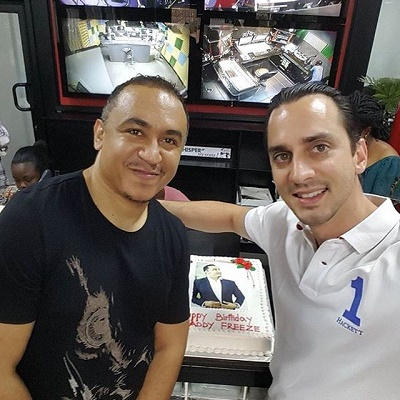 Popular Cool Fm OAP Freeze turns 40, celebrates with Family and Friends