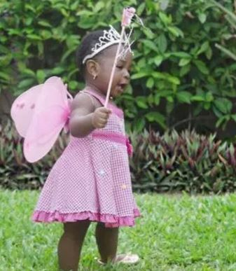 Davido's baby mama, Sophie Momodu, bounced from her  daughter, Imade's 1st birthday