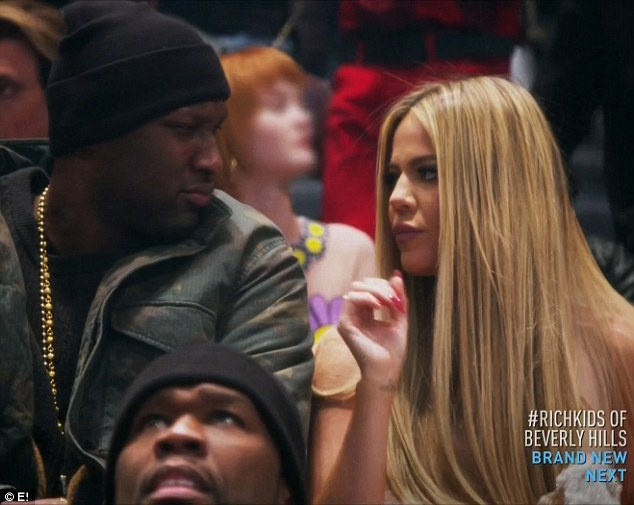 Lamar Odom reveals during KUWTK he wants to marry Khloe Kardashian again but she insists on getting divorcedfirst