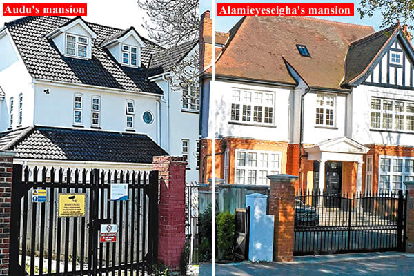 See Alamieyeseigha, Audu, Ibori's Secret London mansions!