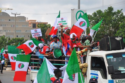 Read Full text of NLC's statement while protesting Yesterday