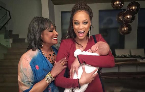 Tyra Banks Celebrates Her Very 1st 'Mothers Day' As A Mum (Photos)